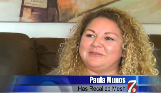 Paula Munos: Woman Living With Recalled Mesh